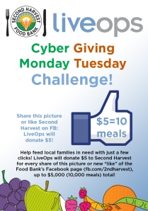 Cyber Monday / Giving Tuesday Challenge